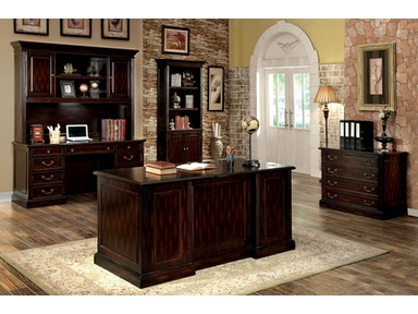 Furniture of America Writing Desk Top CM-DK6208D-1