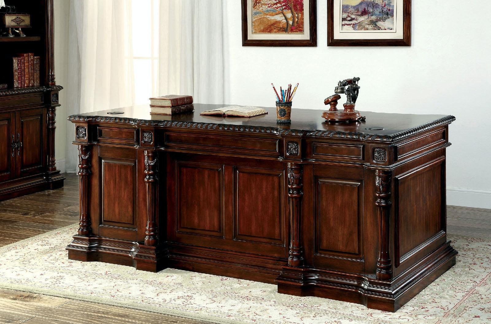 Furniture Of America Office Desk CM DK6252D SET