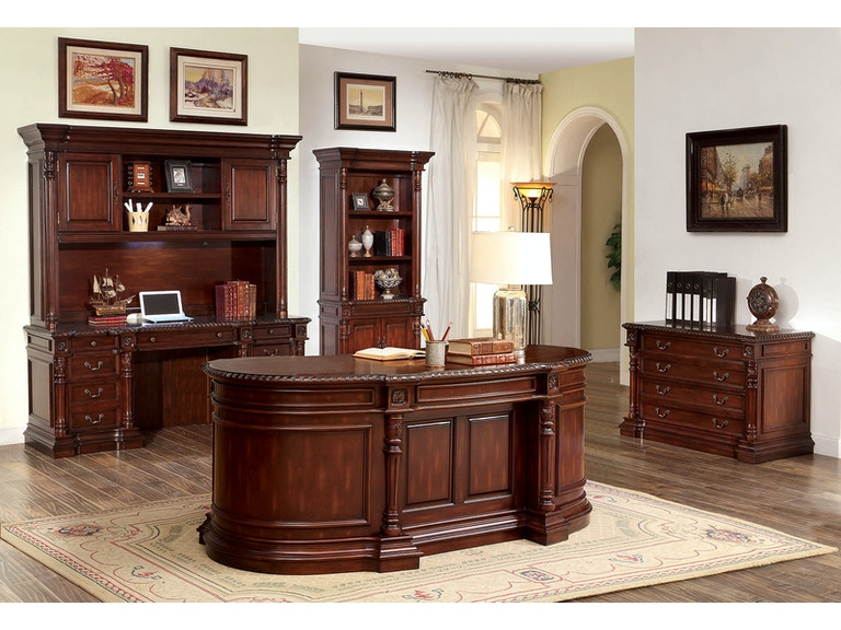 Furniture Of America Home Office Oval Office Desk CMDK48DO The Extraordinary Ofs Office Furniture Property