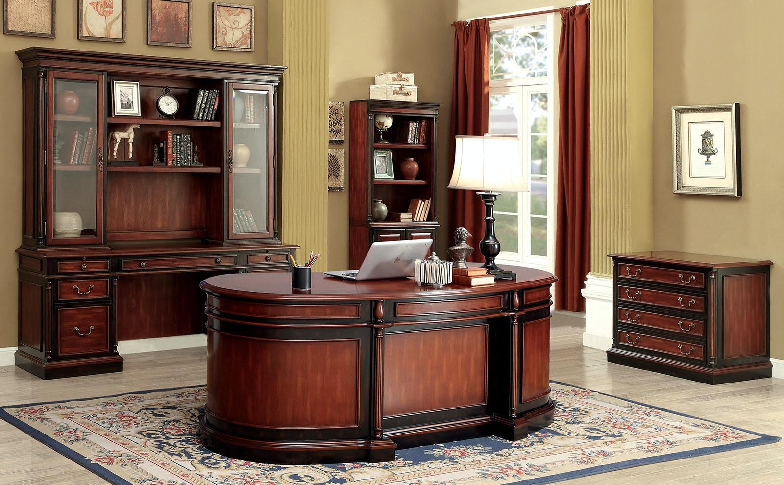 Desk in oval office Lbj Furniture Of America Home Office Oval Office Desk Cmdk6255do At The Furniture Mall The Furniture Mall Furniture Of America Home Office Oval Office Desk Cmdk6255do The