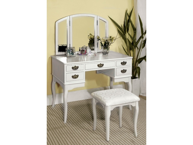 Vanity Table, White