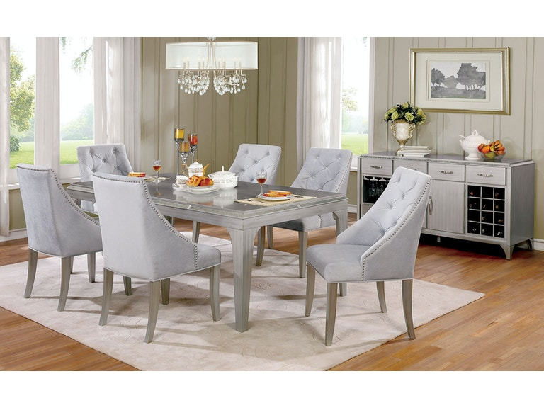 Furniture Of America Dining Room Table Cm3020t At The Mall