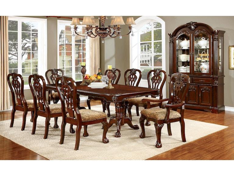 Furniture Of America Buffet Cherry CM3212HB B