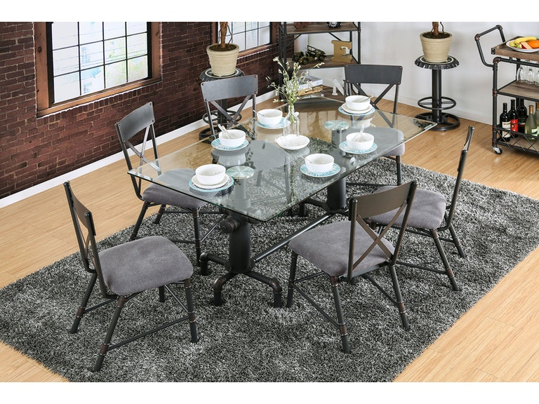 Furniture Of America Dining Room Table Cm3366t At The Mall