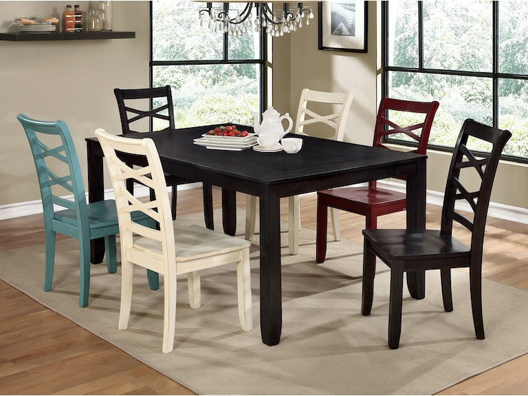Furniture Of America Dining Room Table Cm3528t At The Mall