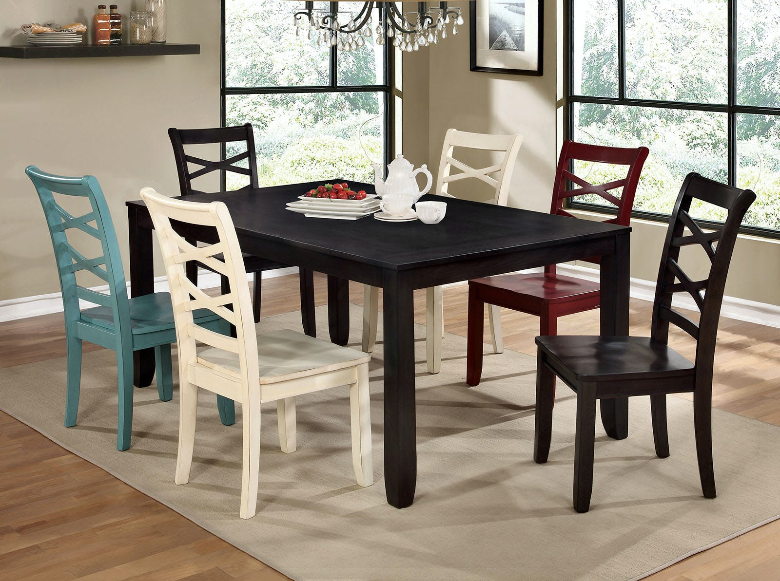 Picture of: Furniture Of America Dining Room Side Chair Espresso 2 Ctn Cm3528ex Sc 2pk The Furniture Mall