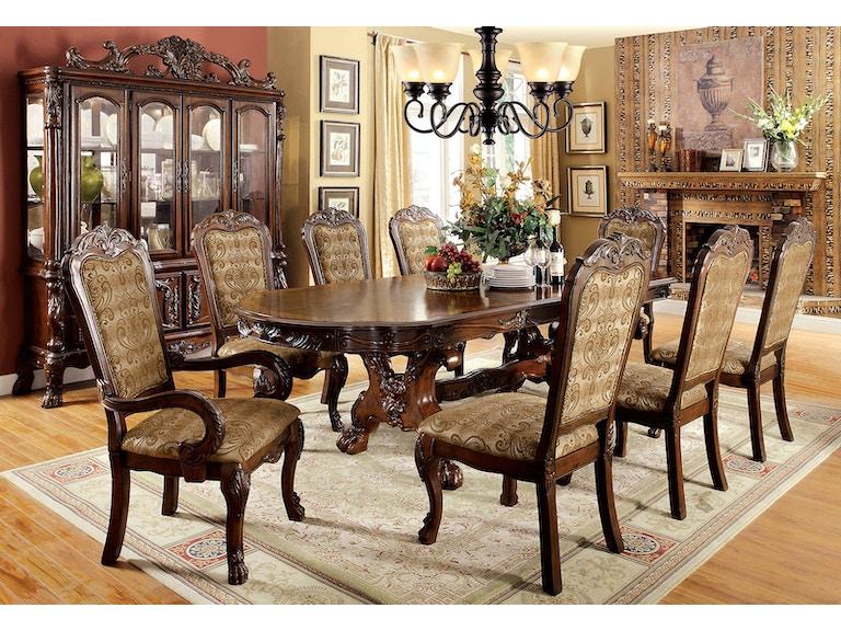 Furniture Of America Buffet Cherry CM3557CH HB B