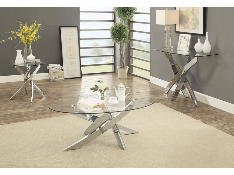 Furniture Of America Living Room Coffee Table Cm4241c Table The