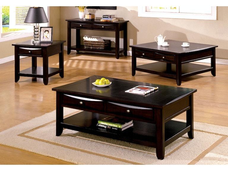 Furniture Of America End Table Cm4265dk E