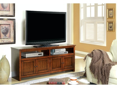 Furniture of America 60 Tv Console, Antique Oak CM5070A-TV