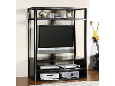Furniture of America 54 Glass Top Tv Console CM5134-TV