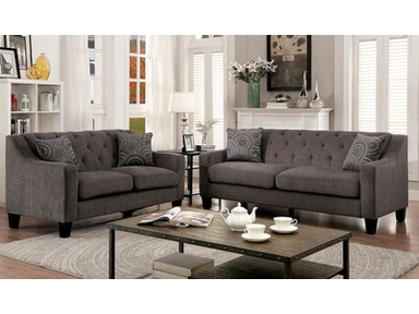 Furniture of America Sofa, Mocha CM6096-SF