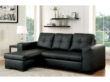 Furniture of America Sofa CM6149BK-LTR-1