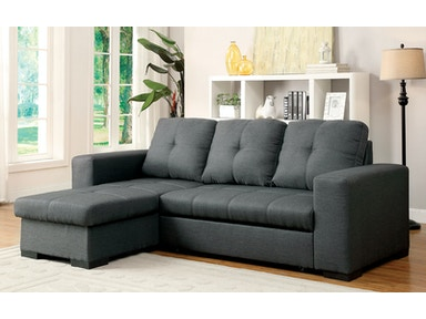Furniture of America Sofa CM6149GY-1