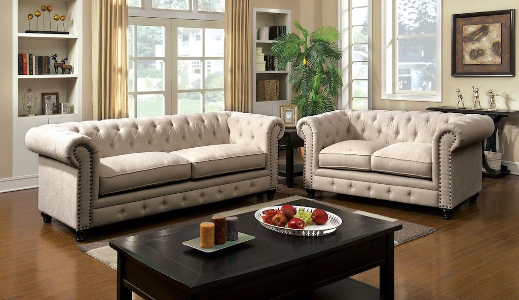 Sofa, Ivory