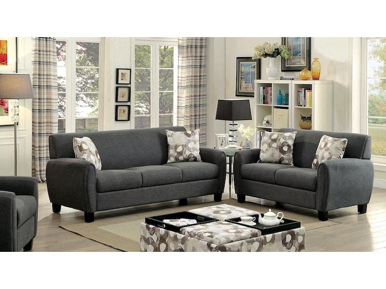 Furniture Of America Living Room Storage Ottoman Cm6792pa Ot The