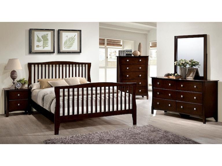 Furniture Of America Bedroom Queen Bed Headboard Footboard