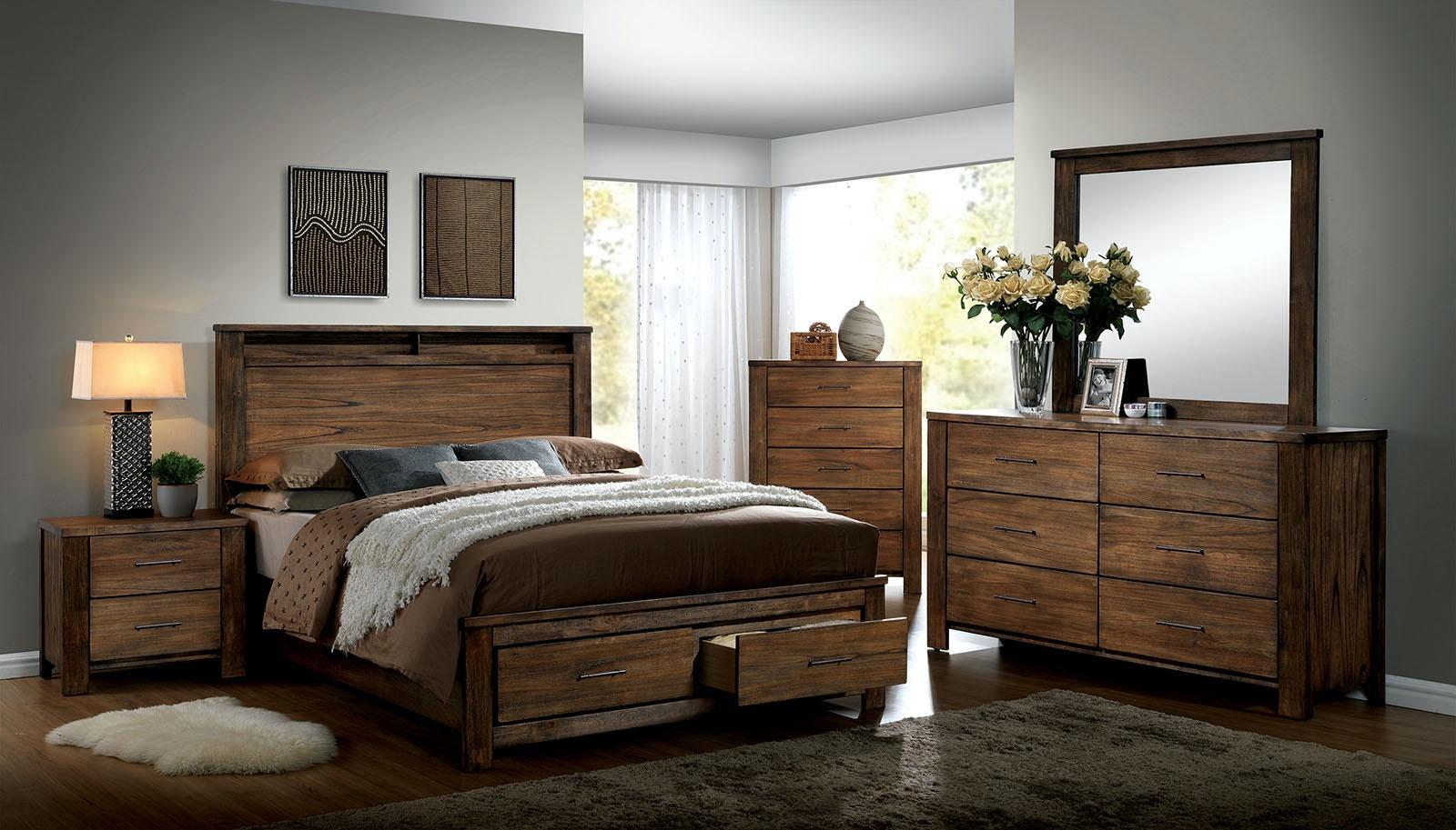 Genial Furniture Of America Cal.King Bed CM7072CK BED