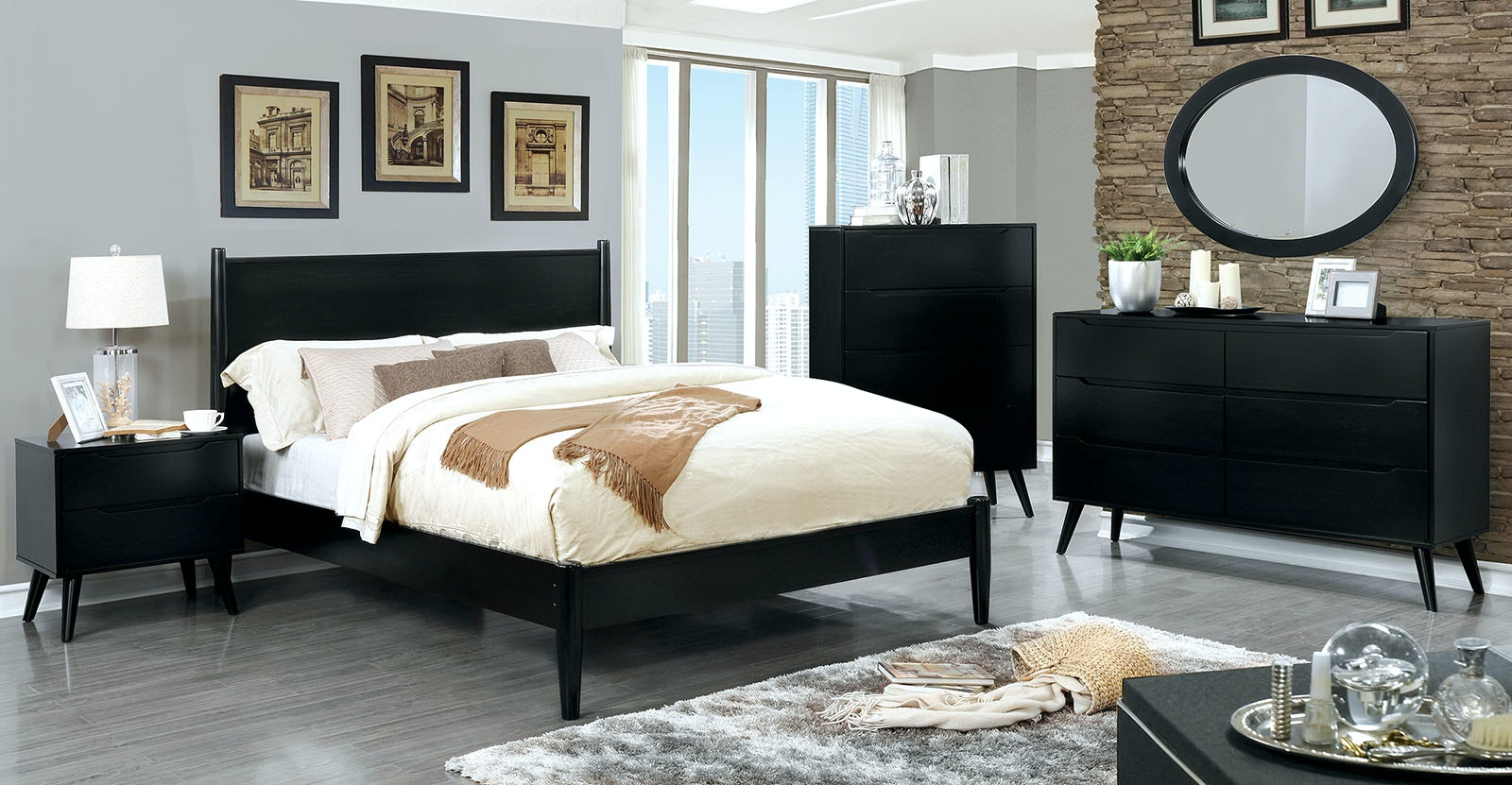 Superieur Furniture Of America Bedroom Armoire, Black CM7386BK AR SET At The  Furniture Mall