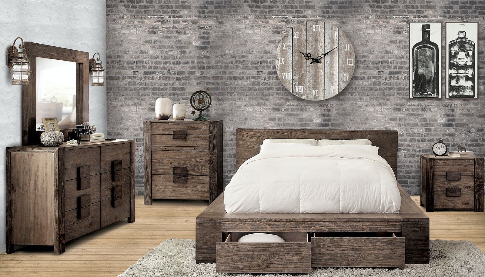 Furniture Of America Bedroom Cal King Bed Headboard Cm7629ck Hb The Furniture Mall Duluth And