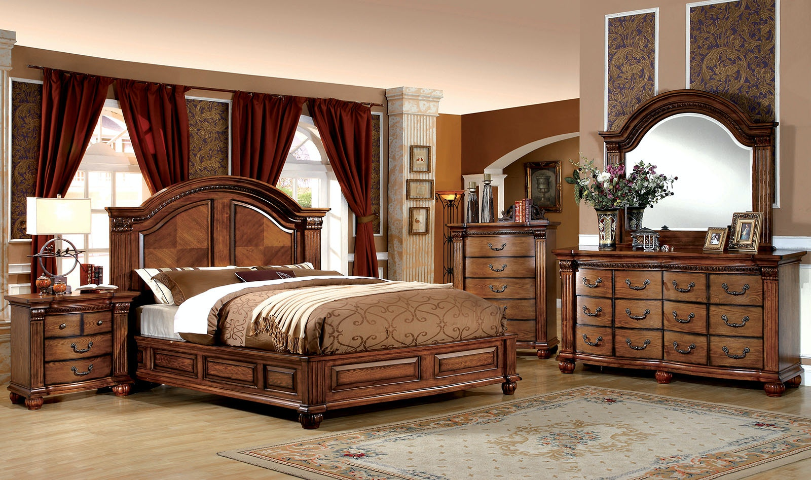 Furniture Of America Cal.King Bed CM7738CK R