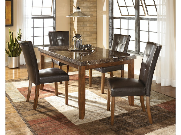 Signature Design By Ashley Dining Room 25 Table And 4 Chairs D328