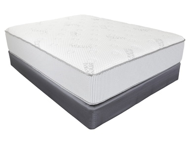 Southerland Mattress and Foundation Set Grandeur Plush Queen Set
