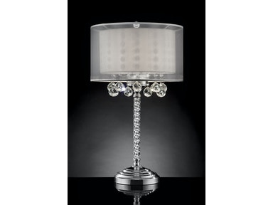 Furniture of America 78.5H Table Lamp L9149T