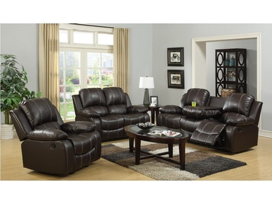 Master Furniture 3 piece reclining living room set 3118