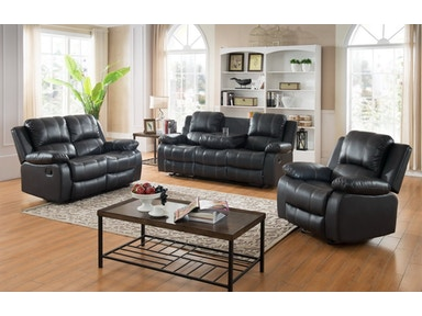 Master Furniture 3 Piece Reclining Living Room Set 3119