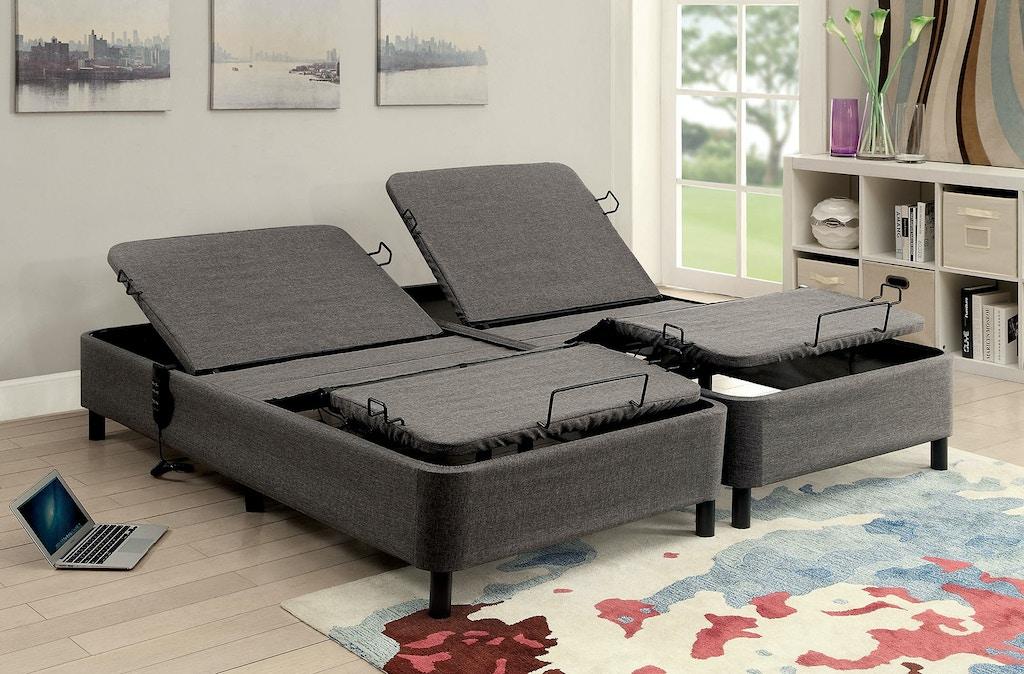 Admirable Furniture Of America Bedroom Twin Xl Adjustable Bed Frame Mt Download Free Architecture Designs Intelgarnamadebymaigaardcom