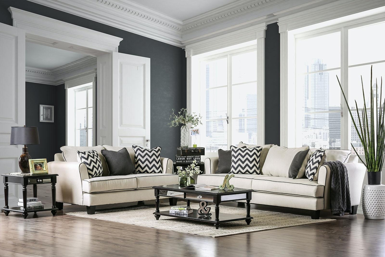 Furniture Of America Sofa SM1278 SF