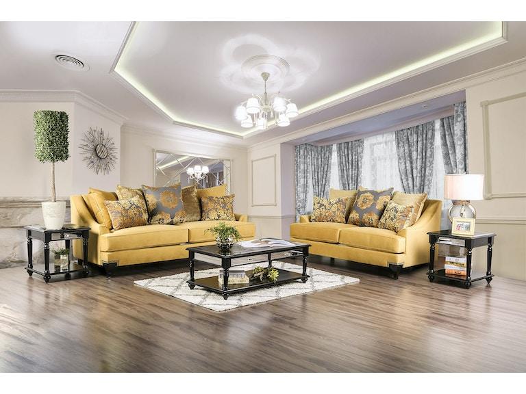 Furniture Of America Living Room Sofa Sm2201 Sf The