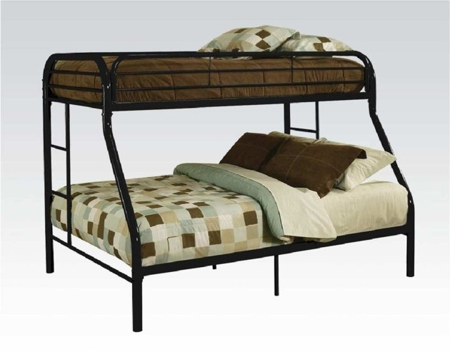 Starlite Bedroom Twin Over Full Bunk Bed Set With 2 Bunky Mattresses