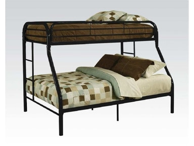 Starlite Twin Over Full Bunk Bed Frame. Bedding Not Included 2025BK