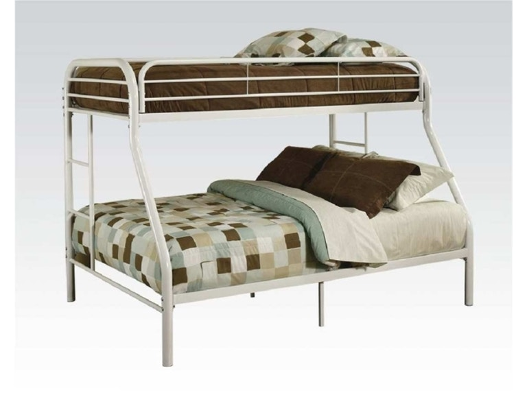 Starlite bedroom twin over full bunk bed frame bedding Twin bed with mattress included