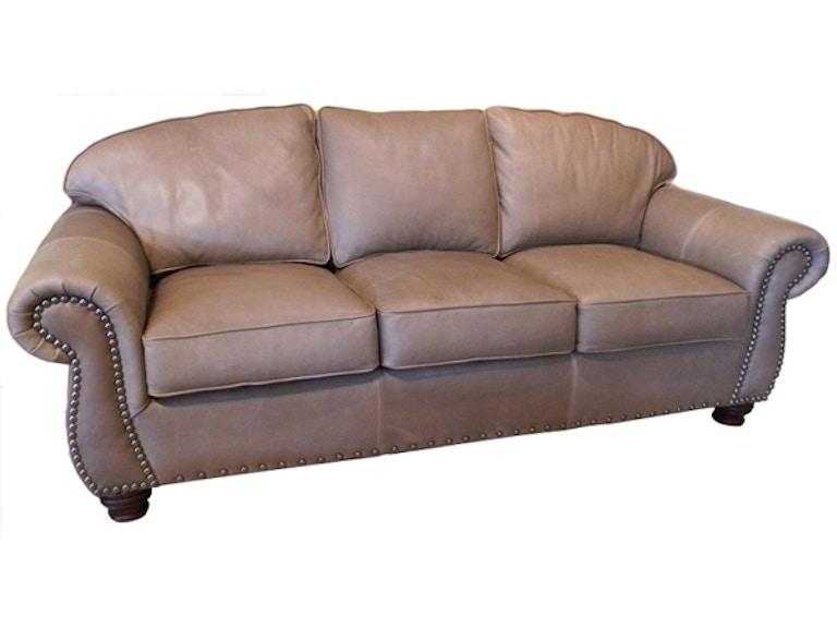 Carolina Custom Leather Laredo Sofa 220