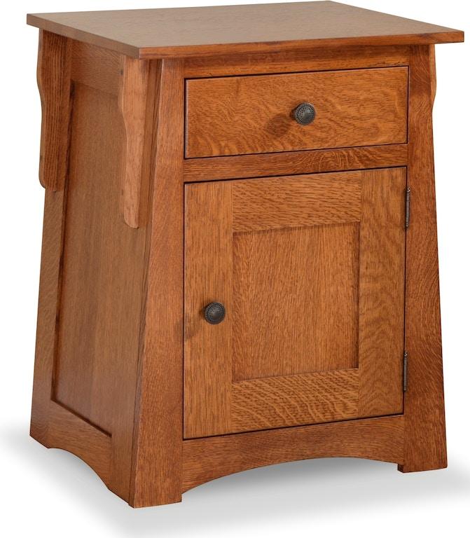 Daniel\'s Amish Bedroom Arts & Crafts Nightstand 37-3052 ...