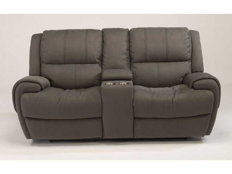 Flexsteel Power Headrest Sofa Baci Living Room