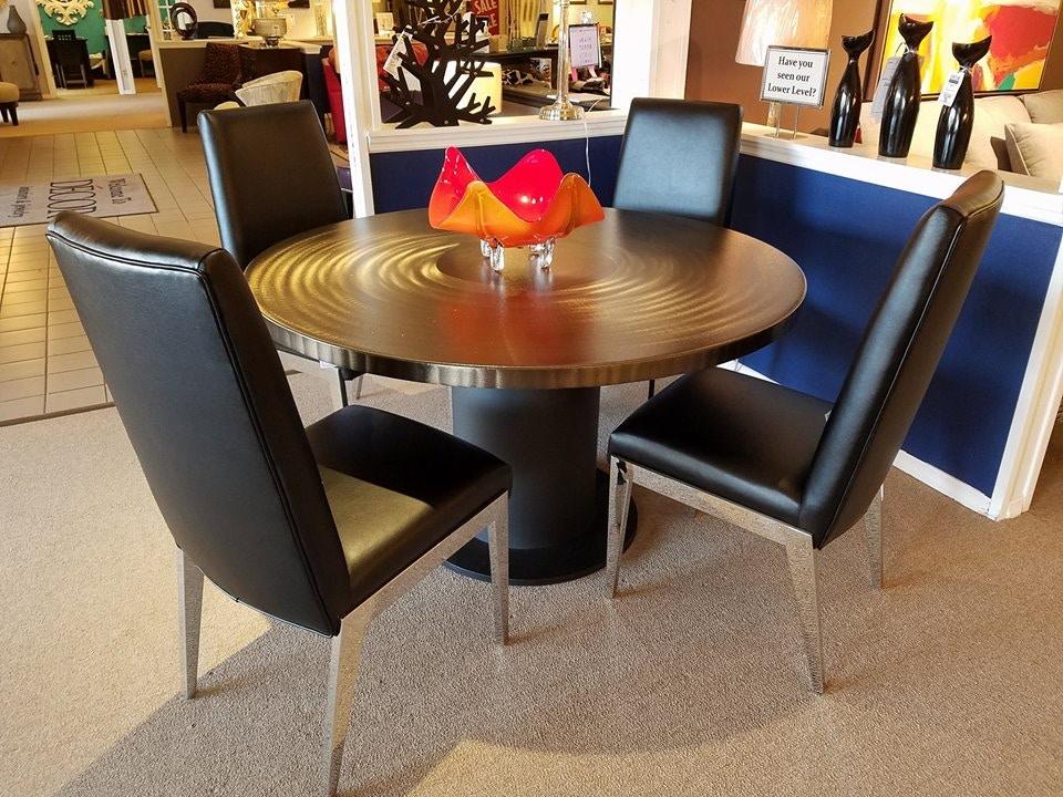OIOS Custom Metal Dining Set 9812*9535 At Decor Interiors U0026 Jewelry