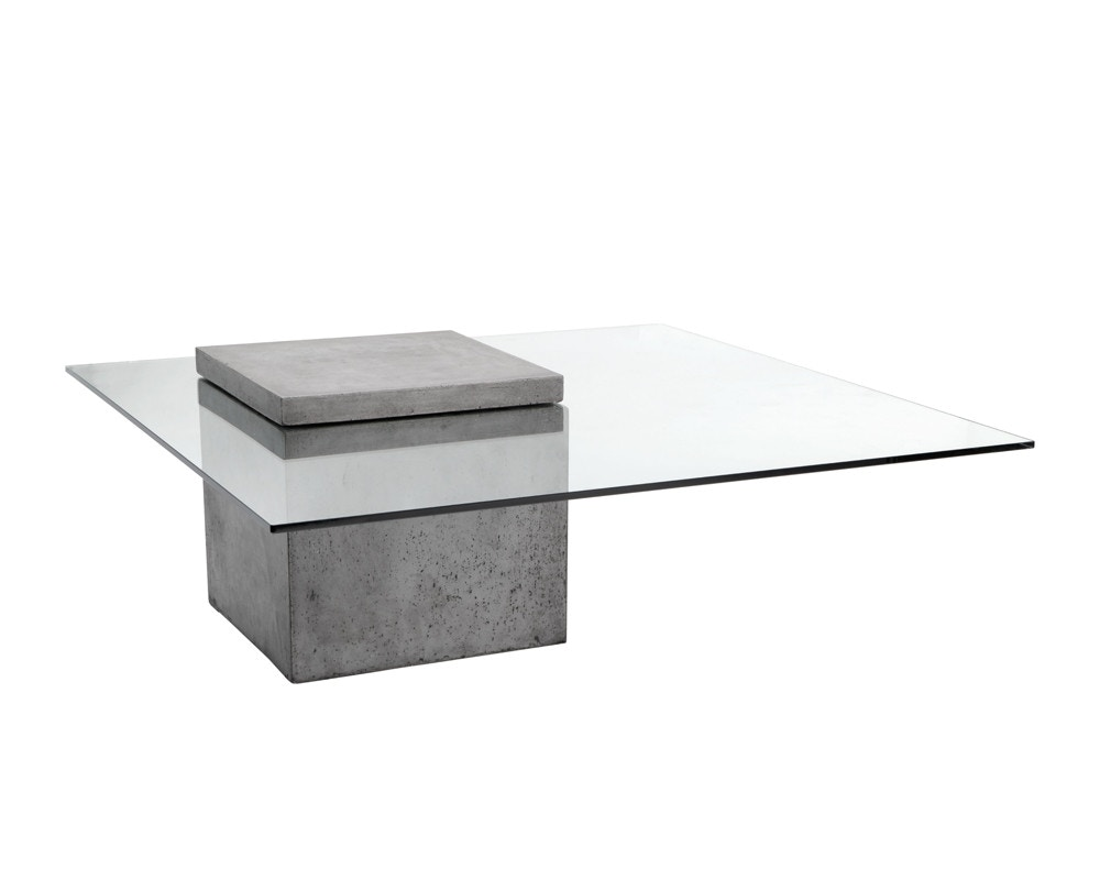 Sunpan Modern Living Room Grange Coffee Table 9143 Decor