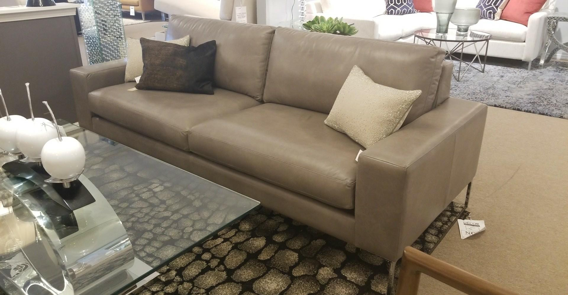 Lazar Alba Leather Sofa 10369