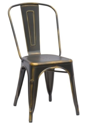 Chintaly Galvanized Steel Chair 10039