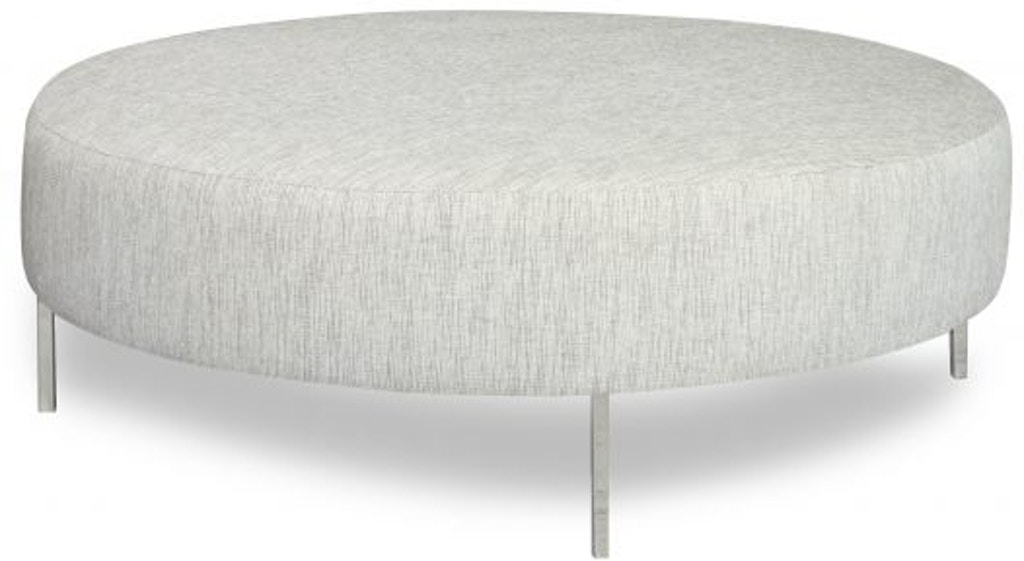 Fine Round Ottoman Gmtry Best Dining Table And Chair Ideas Images Gmtryco