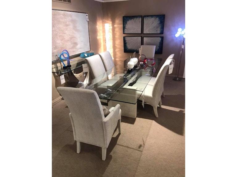 NCA DESIGN Expandable Glass Dining Set 106491063810637
