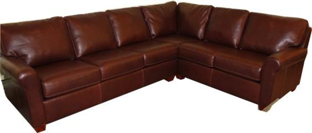 Living Room Savoy Leather Sectional