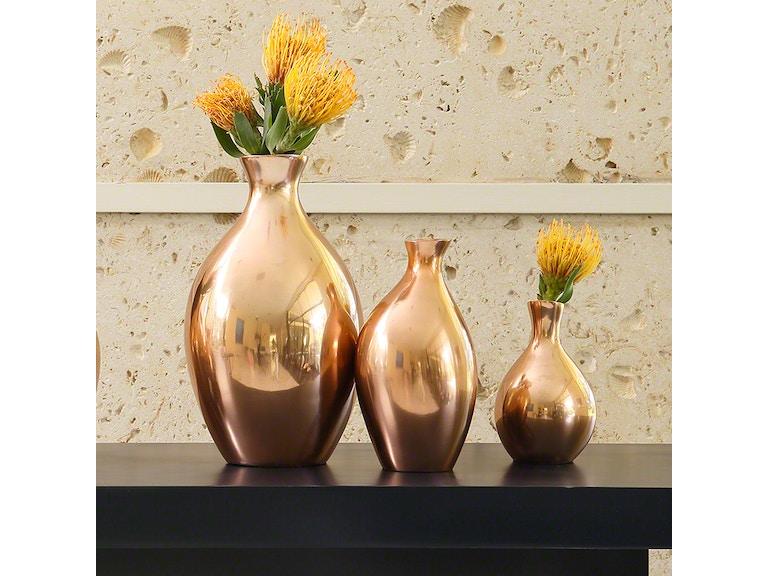 Spry Copper Vases