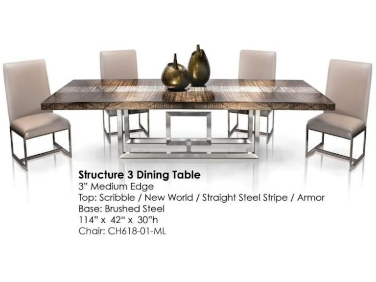 Oios Structure 3 Dining Table