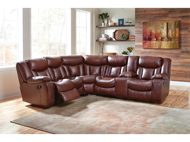 Signature Design By Ashley 2 Piece Reclining Sectional On Sale At