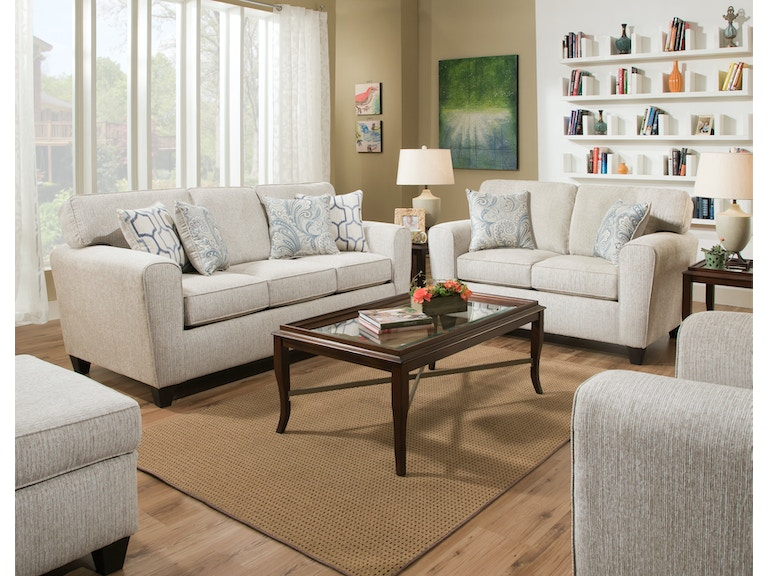 American Uptown Ecru Sofa On At Elgin Furniture In Euclid Cleveland Heights North Randall